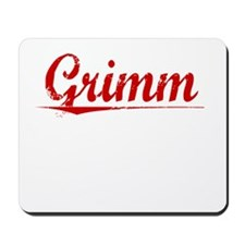 Grimm, Vintage Red Mousepad