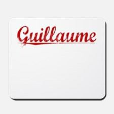 Guillaume, Vintage Red Mousepad