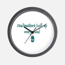 Candlemakers Light... Wall Clock