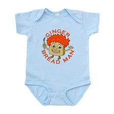 Funny Gingerbread Man Infant Bodysuit