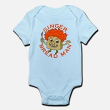 Funny Gingerbread Man Infant Bodysuit
