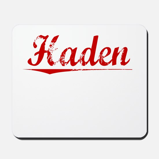 Haden, Vintage Red Mousepad