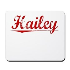 Hailey, Vintage Red Mousepad