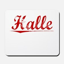 Halle, Vintage Red Mousepad