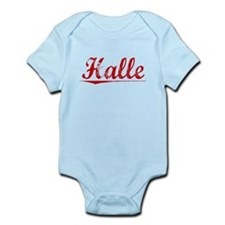 Halle, Vintage Red Infant Bodysuit