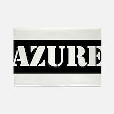 Azure Rectangle Magnet