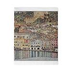 Lake Garda by Klimt Twin Duvet