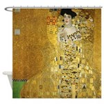 Adele Bauer by Klimt Shower Curtain