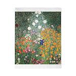 Flower Garden by Klimt Twin Duvet