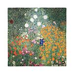 Flower Garden by Klimt Queen Duvet