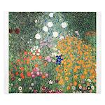 Flower Garden by Klimt King Duvet