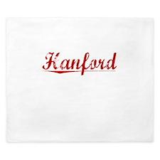 Hanford, Vintage Red King Duvet