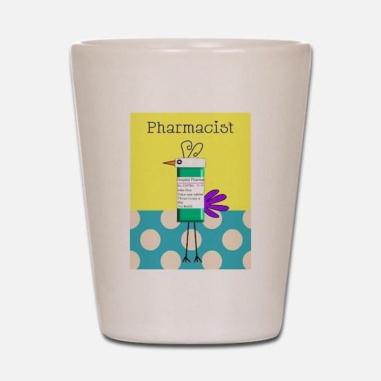 Pharmacy Shot Glass