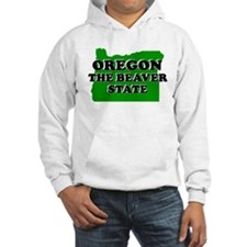 OREGON SHIRT THE BEAVER STATE Jumper Hoody