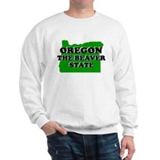 OREGON SHIRT THE BEAVER STATE Jumper