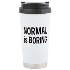 Normal Boring Travel Coffee Mug