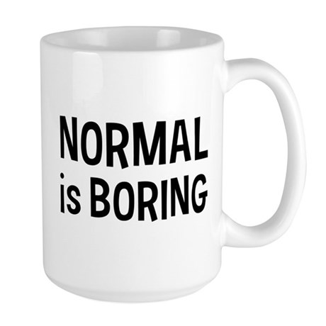 Normal Boring Large Mug