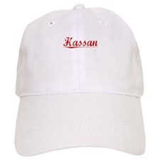 Hassan, Vintage Red Baseball Cap