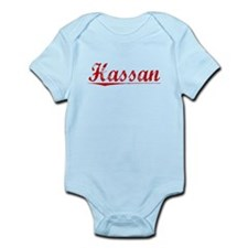 Hassan, Vintage Red Infant Bodysuit