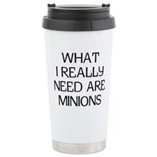 What Minions Stainless Steel Travel Mug