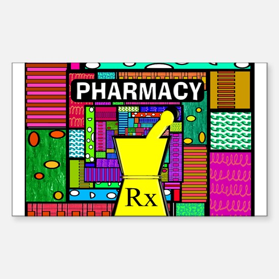 Pharmacy Sticker (Rectangle)