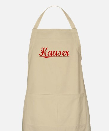 Hauser, Vintage Red Apron