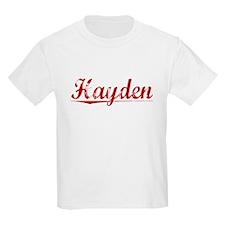 Hayden, Vintage Red T-Shirt