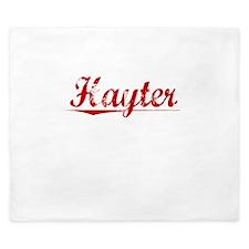 Hayter, Vintage Red King Duvet