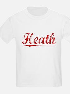 Heath, Vintage Red T-Shirt