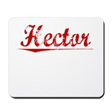 Hector, Vintage Red Mousepad