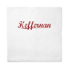 Heffernan, Vintage Red Queen Duvet