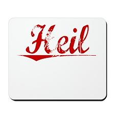 Heil, Vintage Red Mousepad