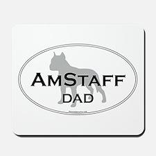 Am Staff Terrier DAD Mousepad