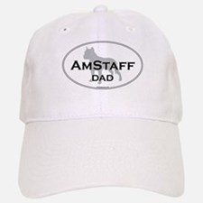 Am Staff Terrier DAD Baseball Baseball Cap