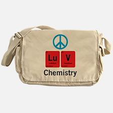 Peace LuV Chemistry Messenger Bag