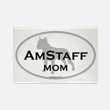 Am Staff Terrier MOM Rectangle Magnet