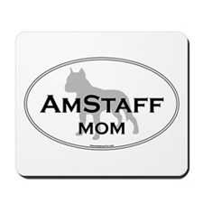 Am Staff Terrier MOM Mousepad