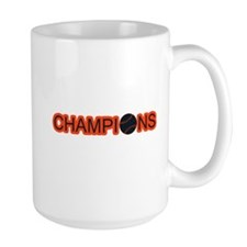 Black and Orange Champions Mug