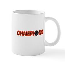 Black and Orange Champions Small Mug