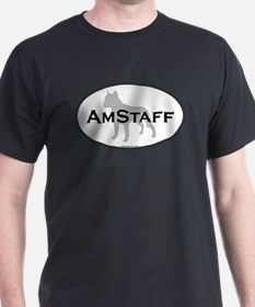 Am Staff Terrier Black T-Shirt