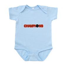 Black and Orange Champions Infant Bodysuit