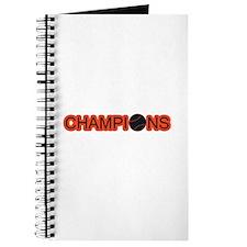 Black and Orange Champions Journal