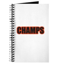 Black and Orange Champs Journal
