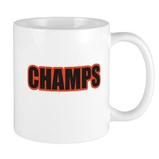 Black and Orange Champs Mug