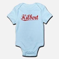 Hilbert, Vintage Red Infant Bodysuit