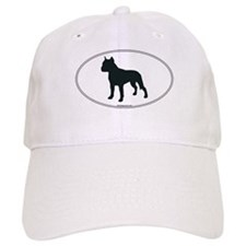 Am Staff Terrier Silhouette Baseball Cap