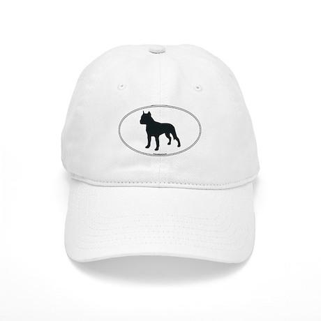 Am Staff Terrier Silhouette Cap