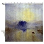 Norham Castle by Turner Shower Curtain