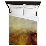 Rail Steam and Speed by Turner Queen Duvet
