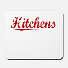 Hitchens, Vintage Red Mousepad